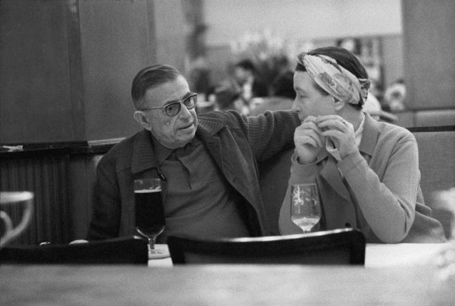 ean-Paul Sartre and Simone de Beauvoir
